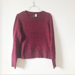3/20$ H&M cozy crew neck sweater size Small